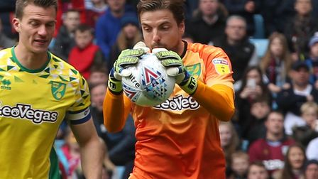 Holland international Tim Krul proved a good free transfer for Norwich City Picture: Paul Chesterton