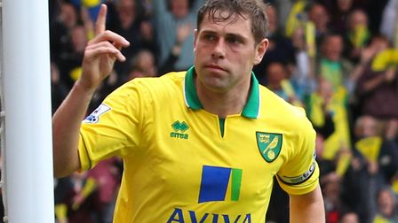 Norwich City survived both of their season in the Premier League while Grant Holt was with the club