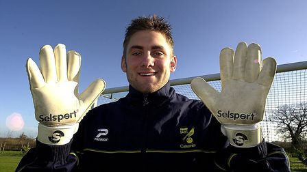 Robert Green during his time at Norwich City Picture: Archant