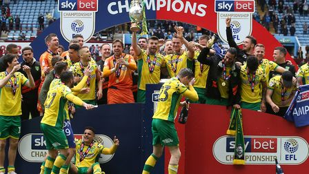 Norwich City return to the Premier League following promotion as champions of the Championship Pictu