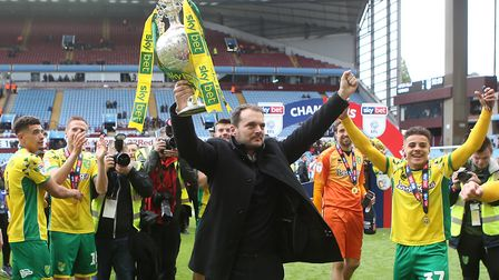 Sporting director Stuart Webber enjoyed Norwich City's promotion success but quickly shifted focus t