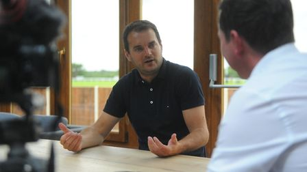 Norwich City sporting director sat down with our group football editor for an exclusive interview at