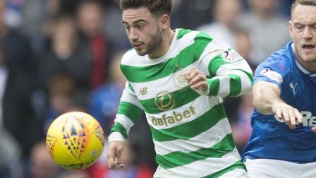 Patrick Roberts, pictured in action for Celtic, sought the advice of Angus Gunn before joining Norwi