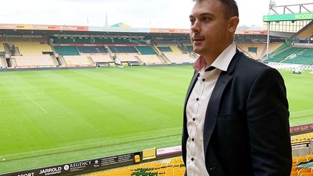 Norwich City chief operating officer Ben Kensell is a busy man as the Canaries prepare for their Pre