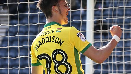 James Maddison is a familiar face Norwich City will catch up with in the Premier League Picture: Pau
