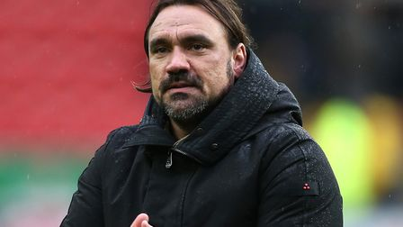 Daniel Farke will take Norwich City to Liverpool on the opening weekend of the new Premier League se