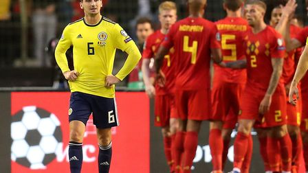 Kenny McLean and Scotland struggled against Belgium - but the City man has a fan in former boss Dann