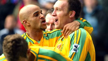 Leon McKenzie and Dean Ashton put City in control back in April, 2005, but Palace striker Andrew Joh