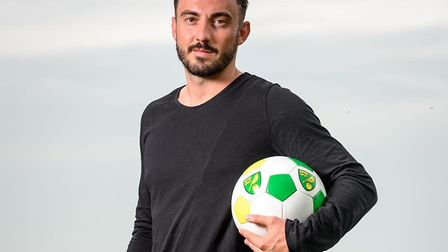Norwich City's new signing Josip Drmic was impressed by Daniel Farke Picture: Norwich City FC
