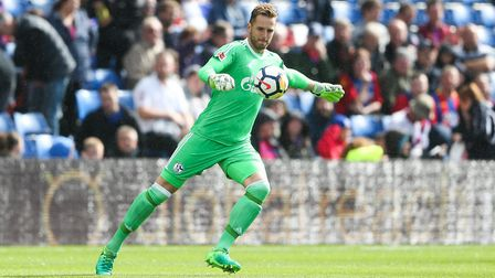 Schalke's Ralf Fahrmann is interesting Norwich City this summer according to reports. Picture: PA