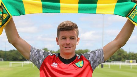 Norwich City have added Charlie Gilmour to their U23 squad Picture: Norwich City FC