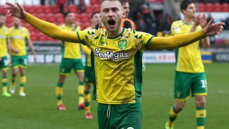 Tom Trybull is the 13th player to sign a new contract with Norwich City since last season Picture: P