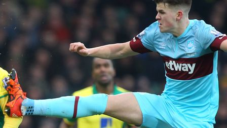 Sam Byram has completed a move to Norwich City from West Ham Picture: Paul Chesterton/Focus Images L