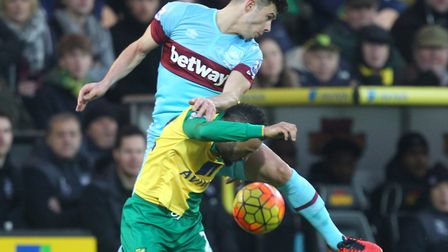 Sam Byram moved to West Ham in 2016 after starring for Leeds Picture: Paul Chesterton/Focus Images L