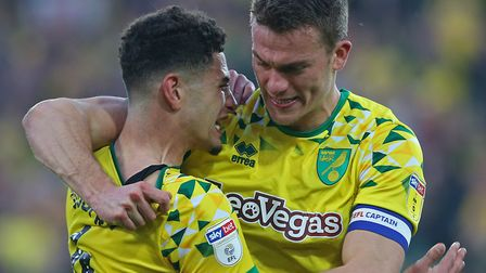 Ben Godfrey and Christoph Zimmermann were Daniel Farke's go-to central defensive pairing during the