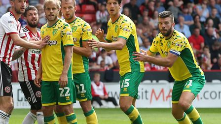 Timm Klose and Grant Hanley will be hoping they get a shot at Norwich City's Premier League opener,