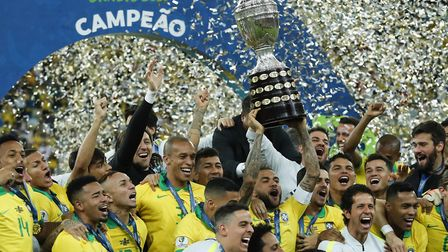 Liverpool duo Allison Becker and Roberto Firmino helped Brazil to win the Copa America at the weeken
