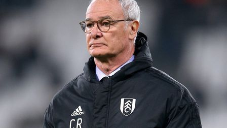 Claudio Ranieri endured a fairly miserable spell as Fulham manager Picture: Nigel French/PA