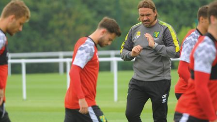 Norwich City play their first friendly on English soil this evening, with a behind closed doors visi
