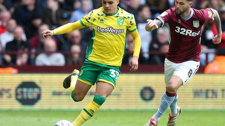 Max Aarons will reportedly sign a new Norwich City contract soon Picture: Paul Chesterton/Focus Imag