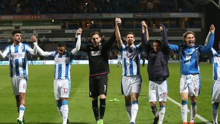 The Terriers went up as play-off winners in 2017 Picture: Paul Chesterton/Focus Images
