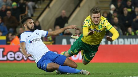The last time Norwich City faced Portsmouth was forgettable for the Canaries Picture: Paul Chesterto
