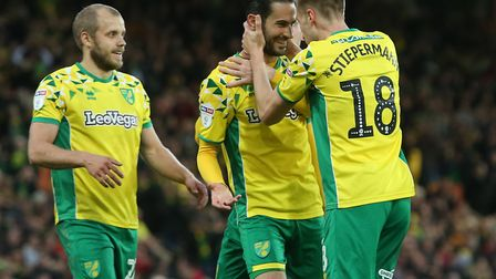 Mario Vrancic takes the plaudits after scoring a stunning goal that went on to confirm Norwich City'