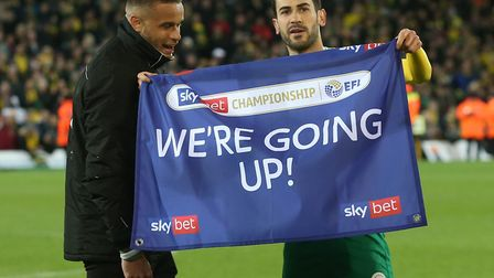 Mario Vrancic produced another excellent strike to confirm Norwich City's promotion back to the Prem
