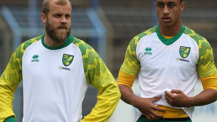 Adam Idah is now a team mate of Teemu Pukki Picture: Paul Chesterton/Focus Images Ltd