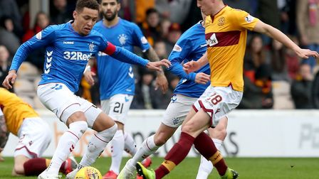 Norwich City is in the race to sign Motherwell midfielder David Turnbull Picture: PA