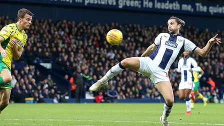 West Brom striker Jay Rodriguez is one of more than 50 players linked with Norwich City so far durin