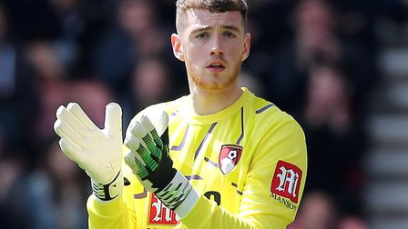 Bournemouth goalkeeper Mark Travers is reportedly of interest to the Canaries Picture: Mark Kerton/P