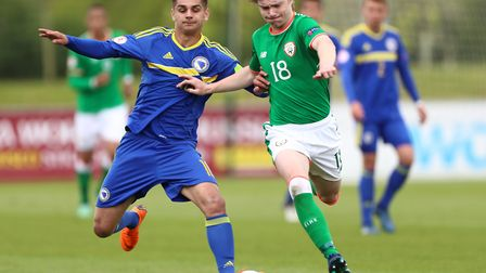 Republic of Ireland youth international Luca Connell, right, is expected to leave Bolton this summer