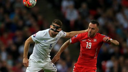 Switzerland forward Josip Drmic is one of the many players linked to the Canaries this summer Pictur
