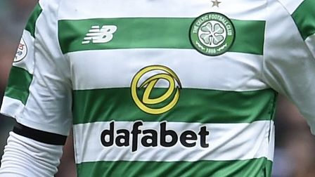Dafabet are long-term sponsors of Scottish giants Celtic Picture: PA