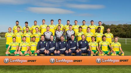 Norwich City's shirt sponsor was LeoVegas for the past two seasons Picture: Norwich City FC