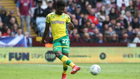 Alex Tettey will be at a signing session on Saturday when Norwich City launch their home kit for the