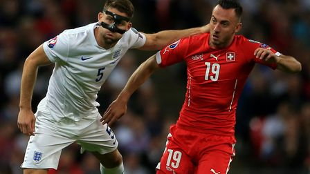 Switzerland international Josip Drmic has completed a move to Norwich City Picture: Nick Potts/PA