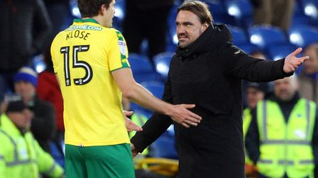 Timm Klose is one of the few in Daniel Farke's current Norwich City squad with Premier League experi