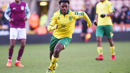 Pierre Fonkeu left Norwich City at the end of last season but has now signed for Lens Picture: Ian B