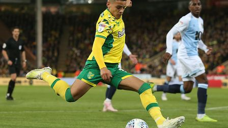 Max Aarons enjoyed a superb breakthrough season at Norwich City. Picture: Paul Chesterton/Focus Imag