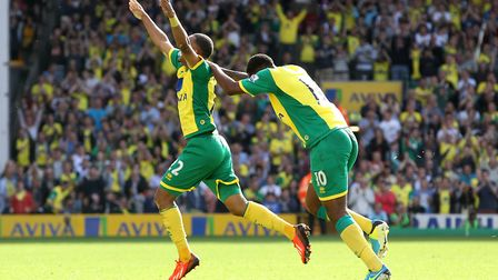 Nathan Redmond after scoring the winning goal in August, 2013 Picture: Paul Chesterton/Focus Images