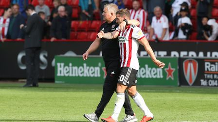 Sheffield United boss Chris Wilder and his evergreen striker Billy Sharp - can they cut it in the t