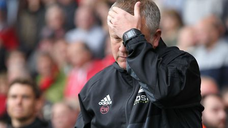 Chris Wilder feels a rant coming on Picture: Michael Sedgwick/Focus Images Ltd