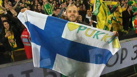 Teemu Pukki was a star of Norwich City's promotion campaign Picture: Paul Chesterton/Focus Images