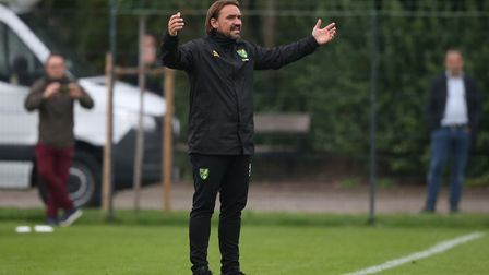 Norwich Head Coach Daniel Farke during the Pre-season friendly match at Hotel-Residence Klosterpfort