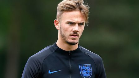 James Maddison is with the England U21 squad ahead of the European Championship Picture: Martin Rick