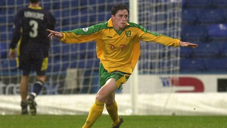 Ian Henderson scored for Norwich City as a 17-year-old, as a substitute in a 4-2 loss at Wimbledon i