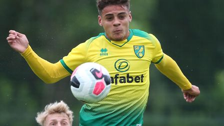 Max Aarons has pledged his future to Norwich City Picture: Paul Chesterton/Focus Images Ltd