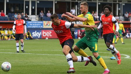 Canaries striker Dennis Srbeny - a cult hero? Picture: Paul Chesterton/Focus Images
